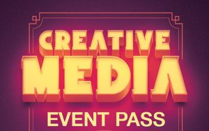 Creative Media Event Pass Template by loswl