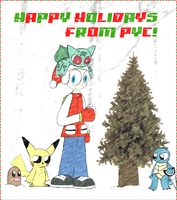 PYC's Winter Holiday Picture by MJ-Mysteriousjeff