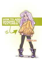 ADD SHADING TO TEXTURES - Digital Art Tutorial by jellyso