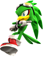 Jet the Hawk Render by adnansonic
