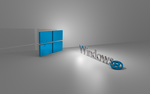 Windows 8 3D Wallpaper (Linux Mint style) by dberm22