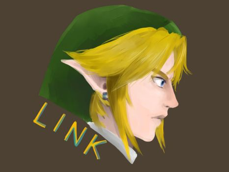 Speed Drawing Link by ThunderReign
