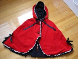 Little Red Riding Hood Capelet by Oniwitch