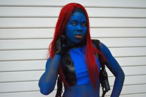 Mystique Cosplay 2 by OsatoCosplay