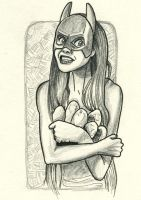 Batgirl. Potatoes. by Spencey