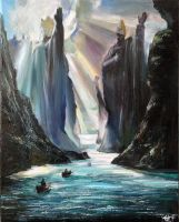 The Argonath by Ainaven
