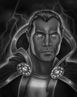 Black Adam by Draconis-Silver