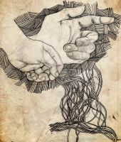 hands lines by kasblue