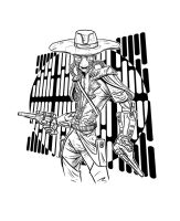 Cad Bane by WillSliney