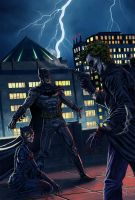 Gotham by night by 0mi