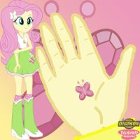 Fluttershy Equestria Girls Crest of Kindness by Sasami87