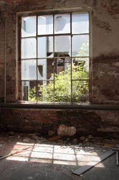 Old factory Stock 166 by Malleni-Stock