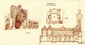 Muslim architecture by Redilion