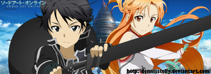 Kirito and Asuna - Sword Art Online by DennisStelly