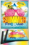 Summer Party Music CD Template by MadFatSkillz
