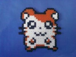 Hamtaro he is in my door by Nenetchy