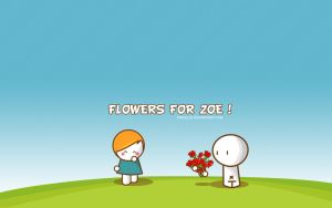Flowers for Zoe by pincel3d