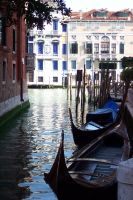 Venice - Gondole by esseacca