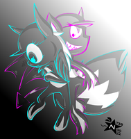 Nega and Posi by NeppyNeptune