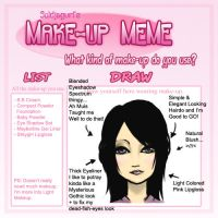 My Makeup Meme by Lapin-de-Fou