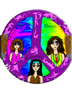 The Hippies by Pink-Dragon-Flame