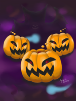 CasualRO: Pumpkinring by Hydeist-666