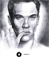 Jonathan Rhys Meyers by hamsterSKULL