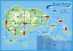 Hoenn Map by cow41087