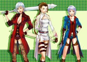 Womens of DMC 2 by Uchiha43