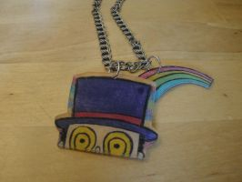Superjail Warden necklace-sold by Psycho7772