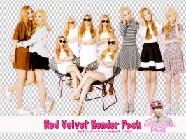 Pack PNG #75 Red Velvet by XieraaaPark