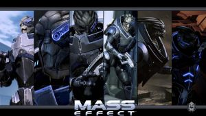 Mass Effect Wallpaper - Garrus Vakarian by Ainyan42