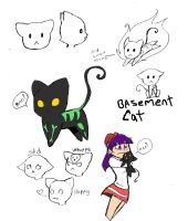 Basementkitteh by remnant-imaginations