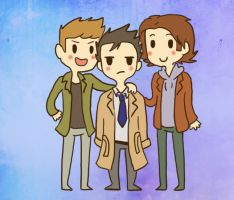 Team Free Will by spanabanana