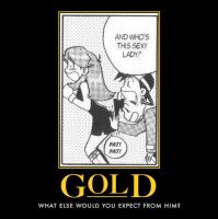 Gold Manga Demotivational by DarkKnight0001