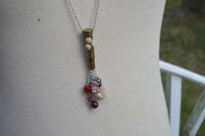Miss Cheerilee Bulletshell Cluster Necklace by Iwasonceafairytale