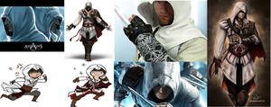 Assassins Altair and Ezio by sicko69