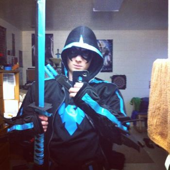 nightwing cosplay 1 by danielwartist