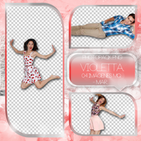 +Photopack png de Violetta. by MarEditions1