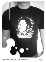 We love Cindrella tee shirt by fukeeflex