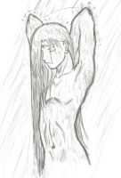 Neji in the Shower by narilsa