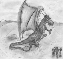 Dragon by saltorio