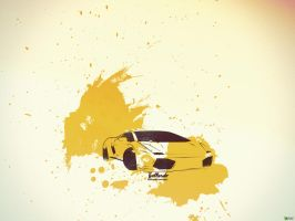 Gallardo Splash by abhas1