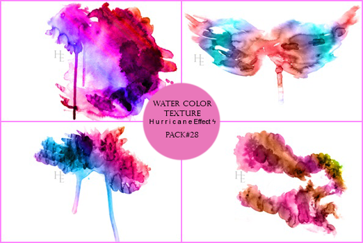 Water Color Texture Pack HE by EllaBellsGraphic