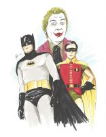 Batman 1960s by MikimusPrime