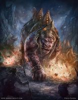 The Beast _ The Ember Conflict by liquidminduk