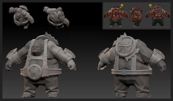Pudge set for hOlyhexOr WIP 2 by nullf