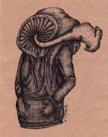 Mushroom Guy by Chalf