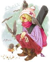 winter sheik by Sui-yumeshima