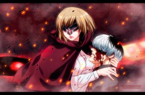 Tokyo Ghoul:RE 29: Hinami and Haise by AR-UA